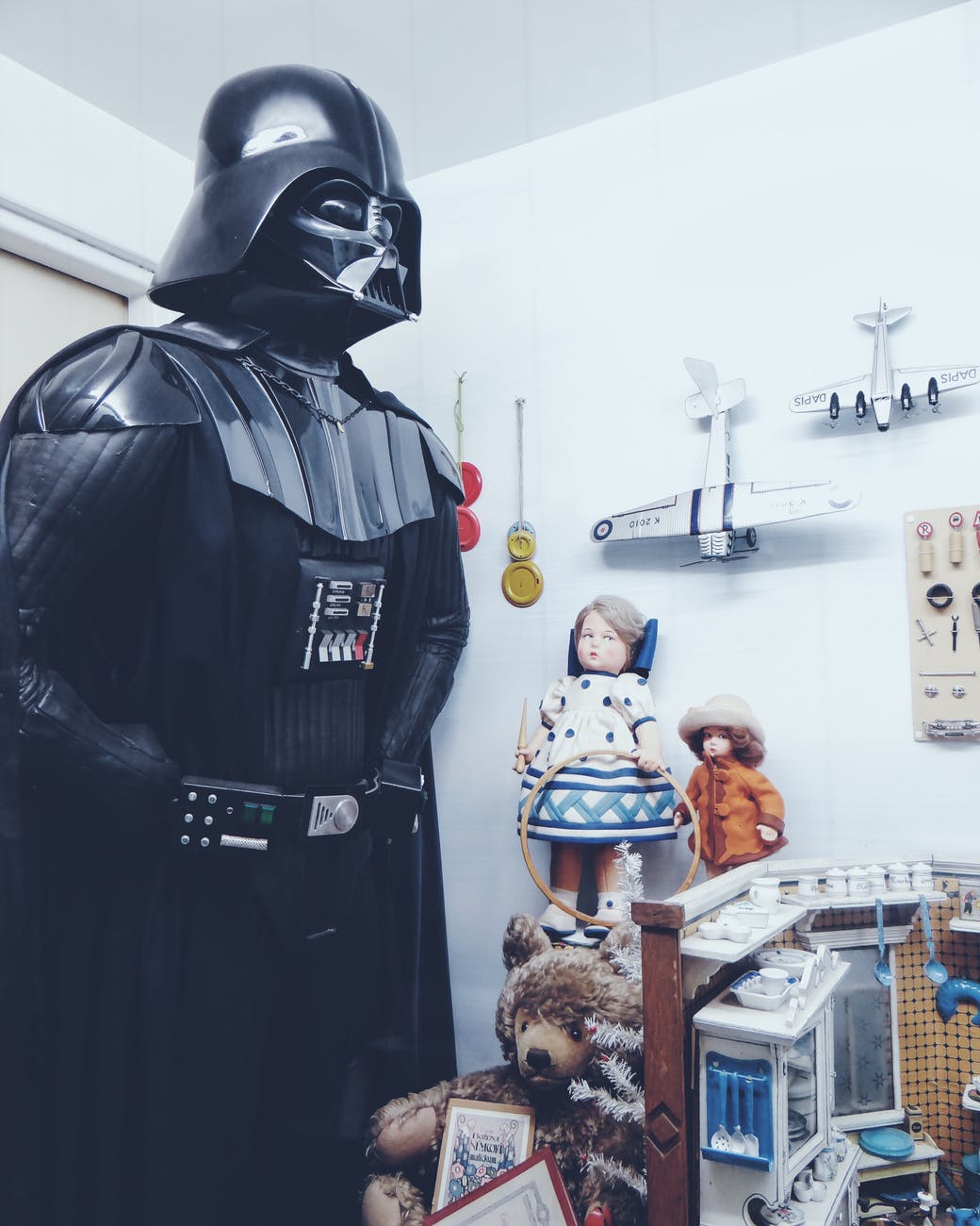 photo of room full of toys