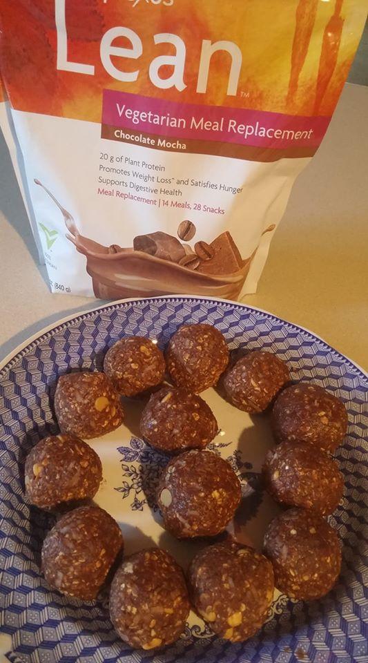 lean chocolate protien bites